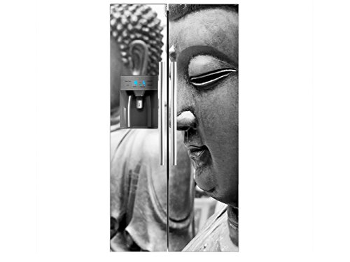 Vinilo Frigorífico Americano Budas | 91x176cm | Varias Medidas | Pegatinas de...