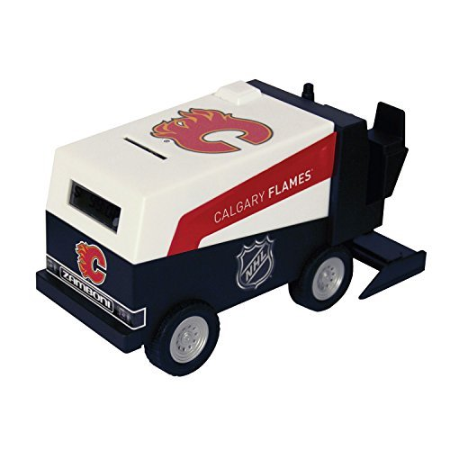 nhl-hockey-calgary-flames-digital-electronic-zamboni-coin-counting-bank-by-nhl