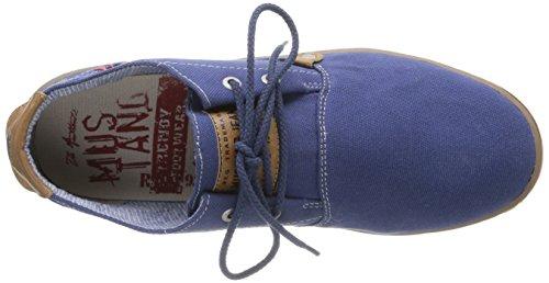Mustang 4079301 Herren Sneaker Blau - Bleu (8 Blau)