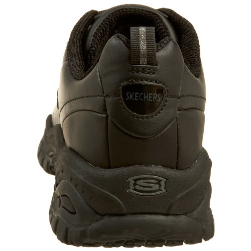 Skechers Work Womens Soft Stride-Softie Slip Resistant Lace-Up Black