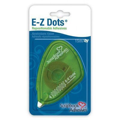 E-Z Dots Adhesive Tape [Set of 2] by Scrapbook Adhesives