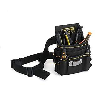ChaRLes 18 Pocket Tool Belt Electrician Tool Pouch Belt Maintenance Tool Bag