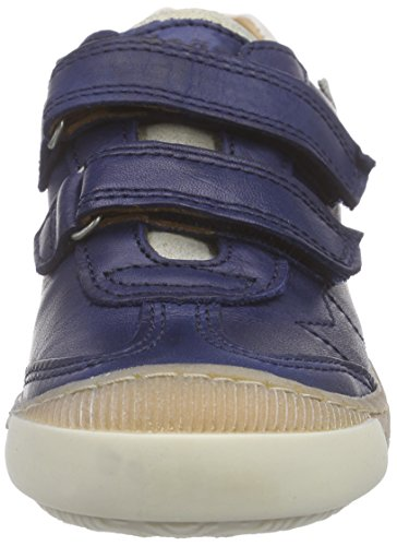 Bisgaard Velcro shoes, Sneakers basses mixte enfant Bleu (20 Blue)