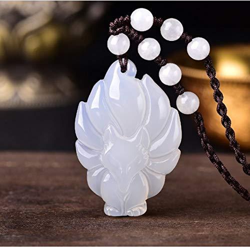 Jade Anhänger Jade Halskette Jade Anhänger Jade Halskette Natürliche Jade Sicher Und Sicher Marke Lila Kristall Kaiser Lila Lila Lila Quadrat Marke Pullover Halskette (Kaiser Des Bösen Kostüm)