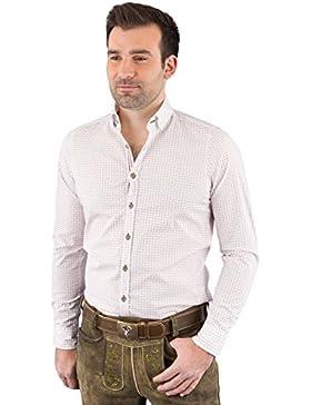 Hatico Mode Pure Trachtenhemd Herren Langarm C52611-21394-374 374