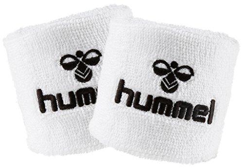 Hummel Old School Small Wristband 2er Set in vielen Farben für Handball und weitere Sportarten (White/Black (9124), Small)
