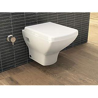 Aqua Bagno Design Hänge Dusch-WC 70.24.Taharet mit Bidet-Funktion inkl. Softclose Sitz Intimdusche Shattaf