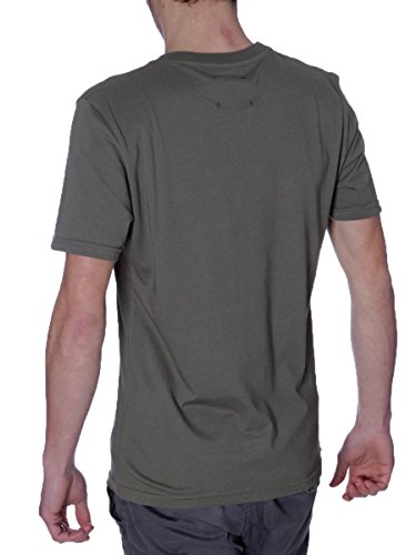 T-Shirt Pyrex 33327 Made in Italy MainApps Verde Militare