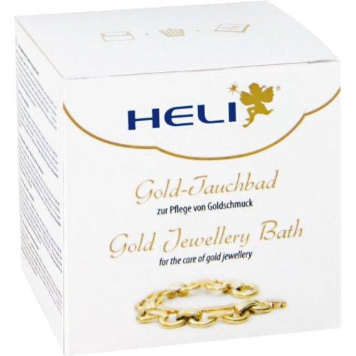 Heli Gold-Tauchbad Schmuck Reinigung 150 ml 141278 mit Tuch