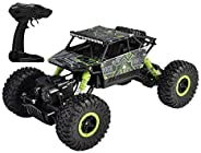 Popsugar - THRC699-104G 4 Wheel Drive 1:18 Rock Crawler Off Roader Monster Truck with 2.4GHz Remote Control Re
