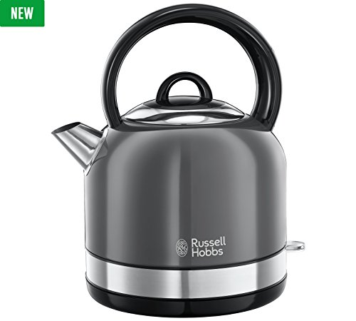 New Russell Hobbs Oslo Grey Kettle