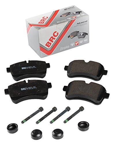 BRC Car Service BRK2504 Kit Pastiglie Posteriore Freni a Disco
