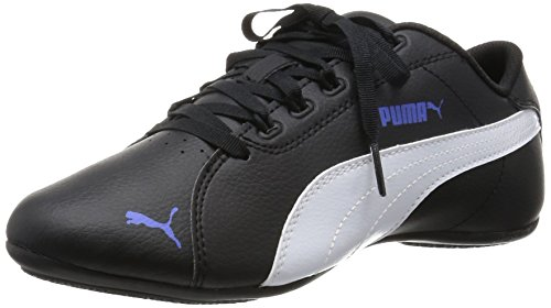 Puma Janine Dance 2, Damen Sneakers, Schwarz (black-white-dazzling blue 06), 39 EU (6 Damen UK)