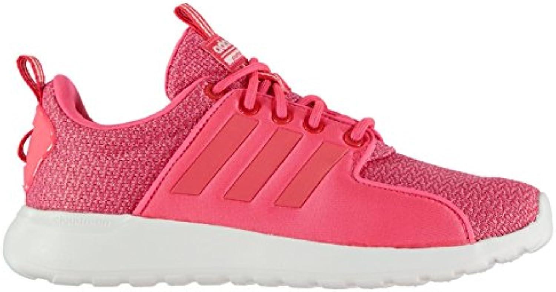 Official Shoes 'Adidas Schuh CLOUDFOAM Lite Racer Sneakers, Laufschuhe für Damen, Pink/Weiß, rosa/weiß, (UK4)ö