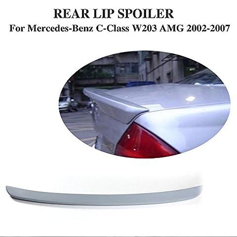 Jcsportline Spoiler Coffre arrière pour Mercedes Benz W203Classe C berline 2001–2006