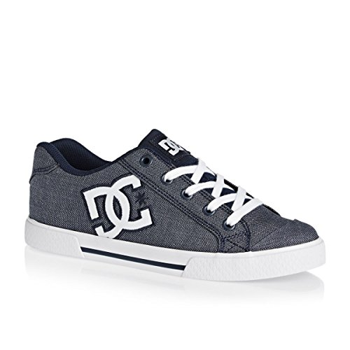 DC Shoes Chelsea TX Se, Baskets Basses Femme Chambray