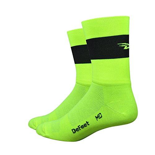 Defeet Aireator Sport Performance Socken mit Coolmax Technologie, leicht und atmungsaktiv, unisex, Fahrradsocken, Laufsocken, Fitness, Training, Tennissocken... (Herren-socken Defeet)