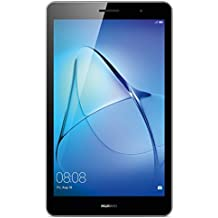 Huawei Mediapad T3 8 - Tablet de 8 pulgadas IPS HD (WiFi, Procesador quad-core Qualcomm Snapdragon 425, 2 GB de RAM, 16 GB de memoria interna, Android 7 Nougat), color gris