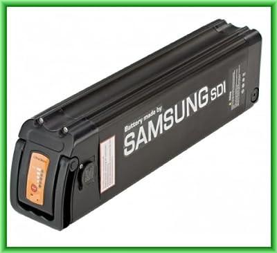 Prophete E-Bike Samsung Ersatzakku für Elektrofahrrad LI-Ionen, Schwarz, 478