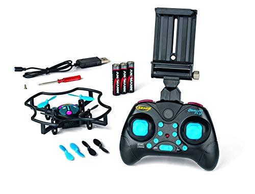 CARSON 500507137 - X4 Quadcopter Dragonfly FPV 2.4G 100{2aba5046fa29731440bb9738edb27013f25006e22ecb8897a3981c1988f49c05}RTF, Ferngesteuerte Flugmodelle, flugfertiges Modell, RC Quadcopter/ Drohne, inkl. Batterien und Fernsteuerung, 100{2aba5046fa29731440bb9738edb27013f25006e22ecb8897a3981c1988f49c05} flugfertig, 2,4 GHz