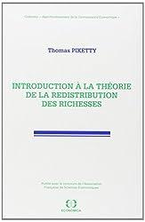 Introduction à la théorie de la redistribution des richesses