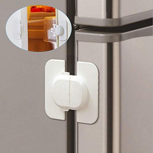 Haikaini Bloqueo seguridad gabinete refrigerador refrigerador
