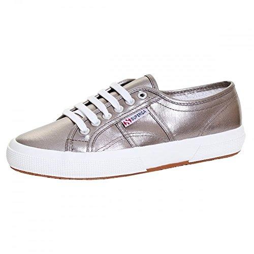 Superga 2750 Cotmetu Ladies Shoe UK7 EU41 US9.5 Grey