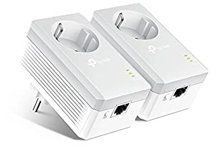 internet: TP-Link TL-PA4010PKIT - PLC 2 Mini Adaptadores (AV 600 Mbps, Extensor, Repetidor...