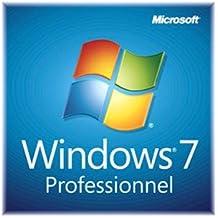 Microsoft Windows 7 Professional, DVD, OEM, 64bit, FR - Sistemas operativos (DVD, OEM, 64bit, FR, 1 usuario(s), 20000 MB, 2048 MB, 1.0 GHz, Direct X 9.0 +, FRE)