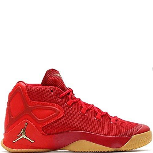 Nike Herren Jordan Melo M12 Basketballschuhe Rot (Rojo) 46 EU (Jordan Melos)
