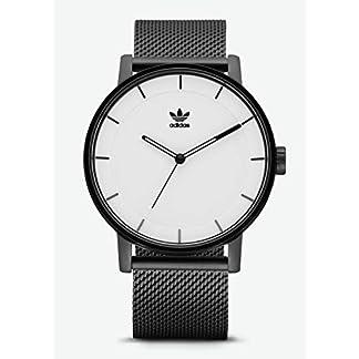 Adidas Reloj Analógico para Hombre de Cuarzo con Correa en Acero Inoxidable Z04-005-00