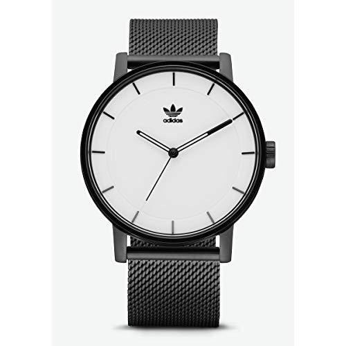 Adidas Hommes Analogique Quartz Montre avec Bracelet en Acier Inoxydable Z04-005-00