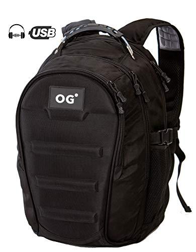 OG Online&Go Mochila Táctica Militar USB Impermeable 40L, Portátil, Camuflaje, Excursion, Camping...