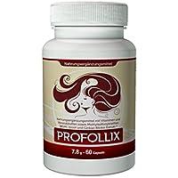 Profollix - Das Beste für Ihr Haar. Für glänzendes, gesundes, dickes und voluminöses Haar. | Rein natürliche Inhaltsstoffe sorgen für eine Haarregeneration und unglaubliches Volumen. | Stärkt den Haarwachstum und die Stärke der Haare. | In nur in wenigen Wochen gesünderes und schöneres Haar für mehr Selbstvertrauen und Lebensfreude.
