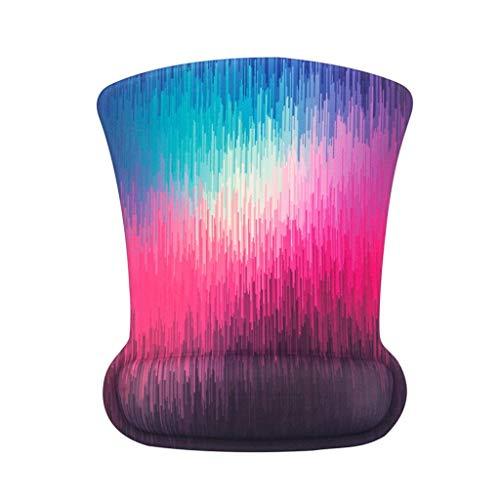 LDY Mausunterlage, erhöhte Massage, weiche Rutschfeste Silikonsohle, geeignet für das Büro. Spiel -