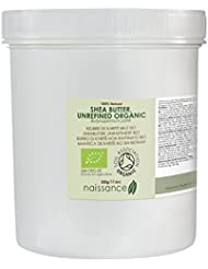 Naissance Unrefined Shea Butter 500g Certified Organic 100% Pure