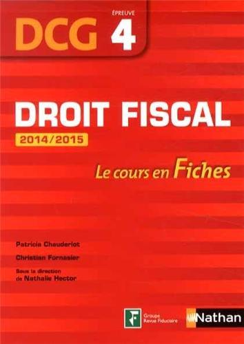 Droit Fiscal 2014/2015
