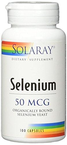 SOLARAY SELENIUM 50 MCG 100 CAPSULAS - 50 Mcg 100 Kapseln