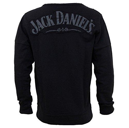Jack Daniel' s-XXL- Nero Maglione