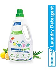 Mamaearth's Plant Based Baby Laundry Liquid Detergent, with Bio-Enzymes and Neem Extracts, 1000ml
