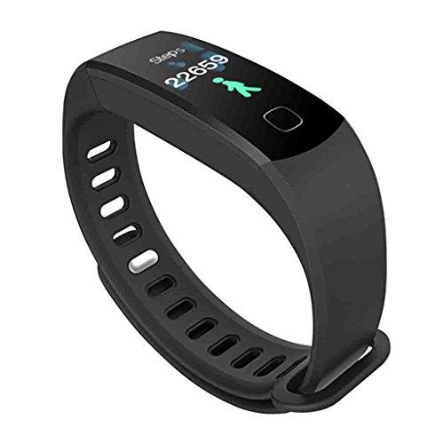 FFNNG Blutdruckmessgerät Blutdruck Smart Armband Farbdisplay Herzfrequenz-Oximeter-Übungs-Schritt-Zähler-Schlaf-Überwachungs-Wasserdichtes Bluetooth-Armband