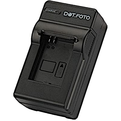 Dot Foto Panasonic CGA-S005 CGA-S005E DMW-BCC12 Travel Battery Charger 100-240v Mains 12v in-car adapter See Description for Compatibility