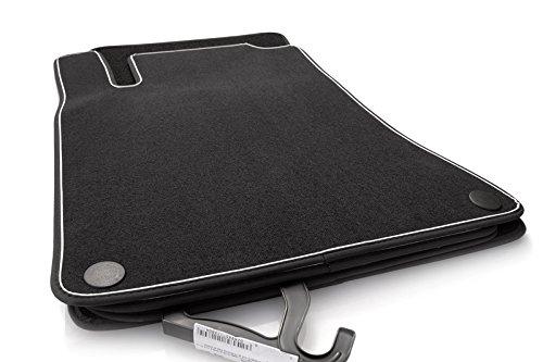 Fußmatten Mercedes B-Klasse W246 / A-Klasse W176 Original Qualität Velours Autoteppich 4-teilig schwarz