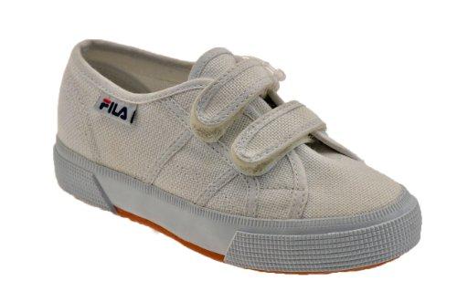 Fila Stadt Strap Jr Turnschuhe Neu Kinder Schuhe Nicht-gerade weiss