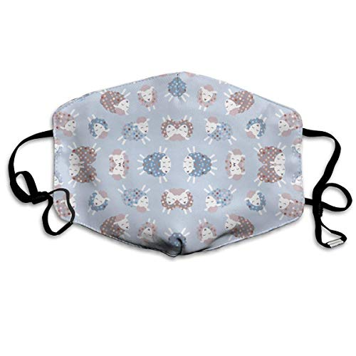 Masken,Masken für Erwachsene,Ditsy Little Lamb Washable and Reusable Cleaning Mask,For Allergens,Exhaust Gas,Running,Cycling,Outdoor Activities Adult-jason Maske