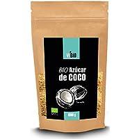 Azúcar de Coco Orgánico Vivio, 1 kg. Edulcorante Natural y Saludable con un Delicioso Sabor. Paquete Hermético Fácil de Usar.