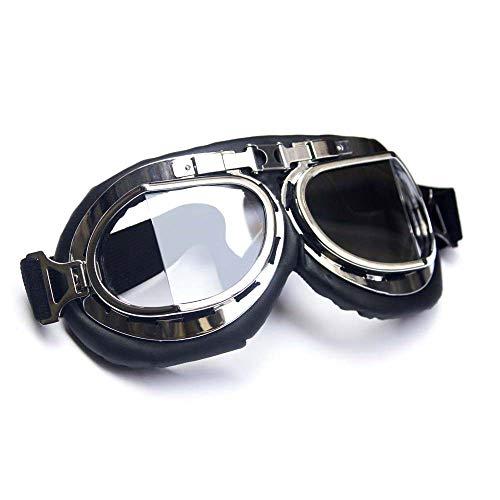 Wide Angle Retro Goggles - Clear Glass B-EG22