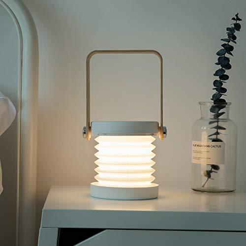 Luces de linterna LED Luces de noche portátiles Campo para acampar Luces de noche convenientes simples Estudio individual Tarde de trabajo Lámpara de mesa