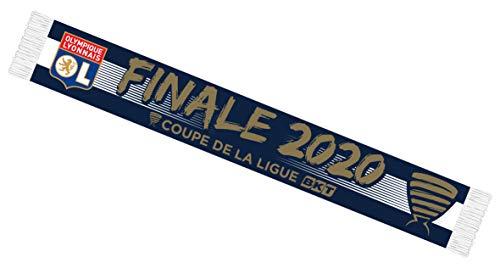 Bufanda del Olympique Lyonnais - Colección Oficial del OL - Finale Copa de la Liga 2020