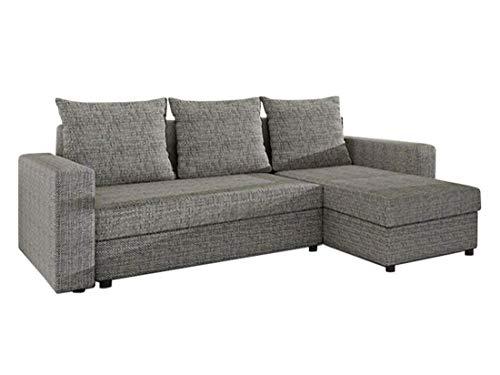 Mirjan24  Ecksofa Top Lux! Sofa Eckcouch Couch! mit Schlaffunktion und Zwei Bettkasten! Ottomane Universal, L-Form Couch...